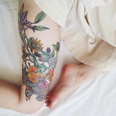 tatouage animaux et nature
