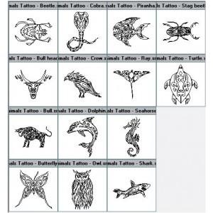 tatouage animaux fantastique