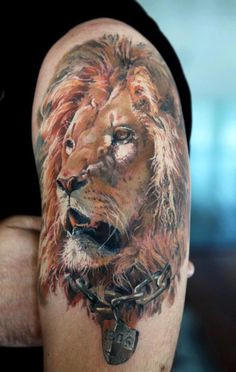 tatouage animaux lion