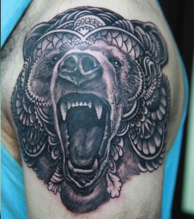 Tatouage animaux ours