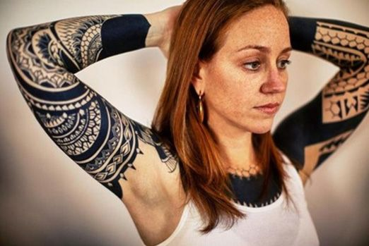 tatouage avant bras cercle
