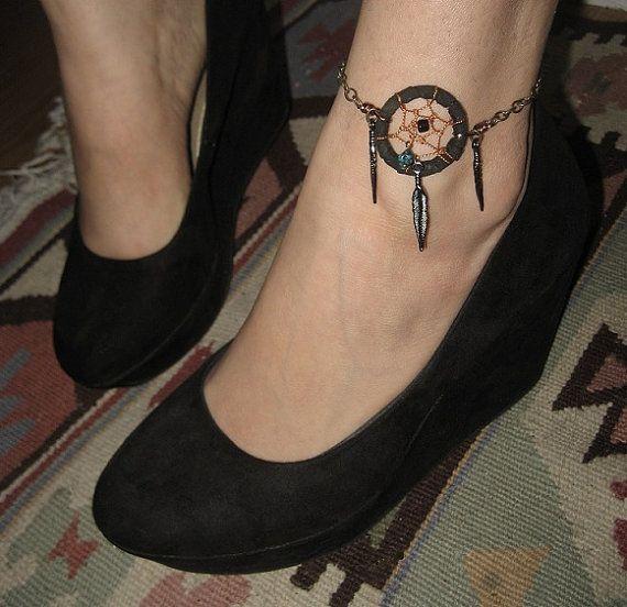 tatouage bracelet indien cheville