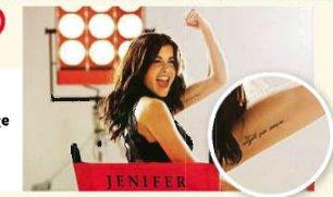 tatouage bras jenifer