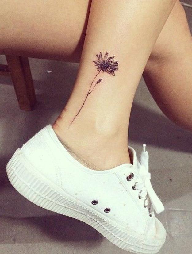 tatouage cheville animaux
