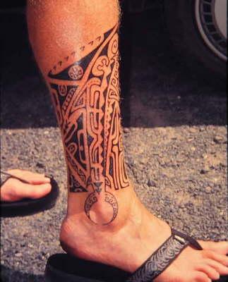 tatouage cheville pour homme
