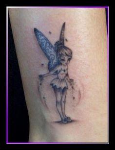 tatouage fée gothique