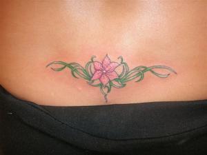 tatouage fleur guadeloupe