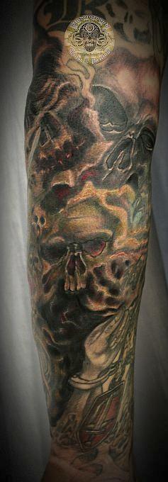 tatouage gothique homme
