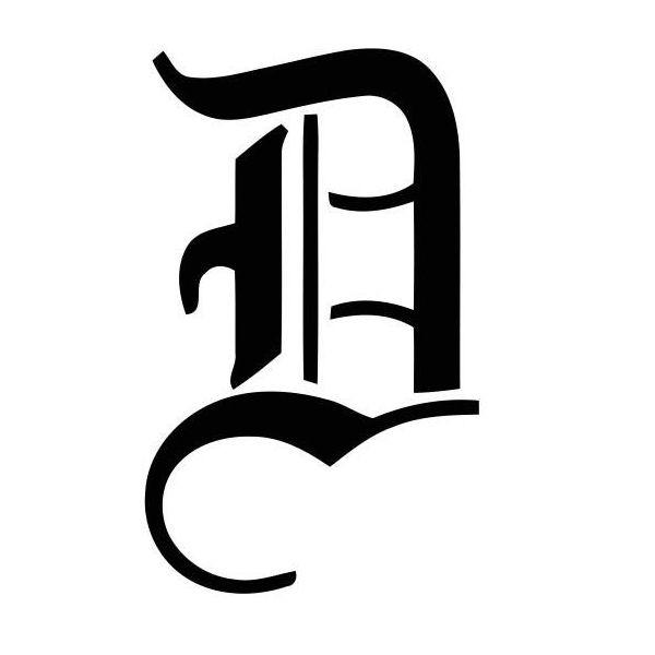tatouage gothique lettre