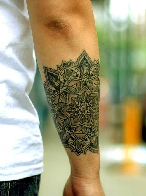 tatouage homme bracelet avant bras