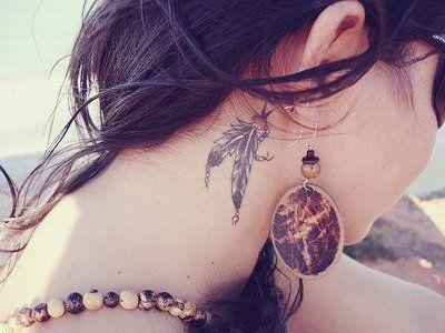 tatouage indien discret