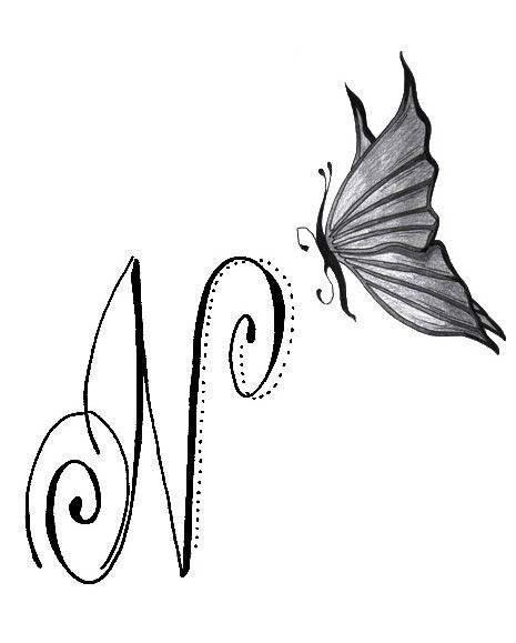 Tatouage initiale n