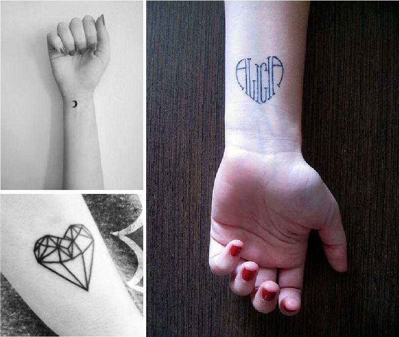tatouage mini noeud