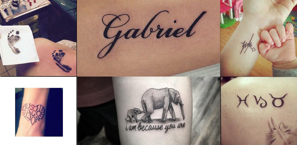 tatouage phrase amour maman