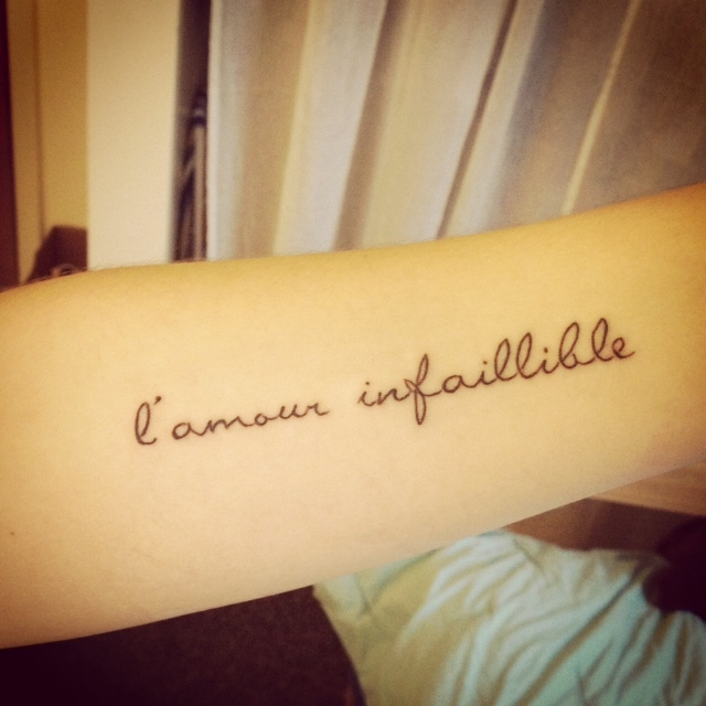 Tatouage phrases courtes