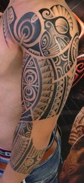 tatouage polynésien montpellier