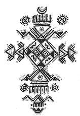 tatouage tribal kabyle