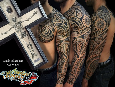 Tatouage tribal montpellier
