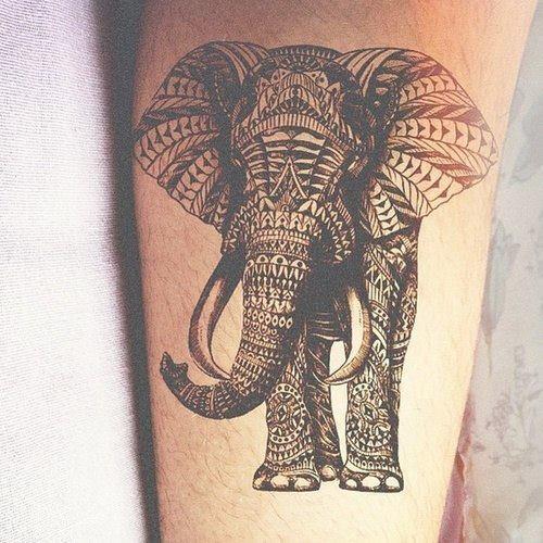 tatouage tribal volonté