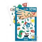 tatouages djeco animaux