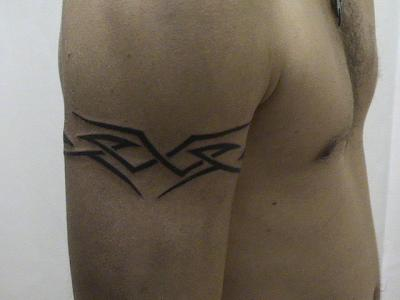 tattoo tribal discret